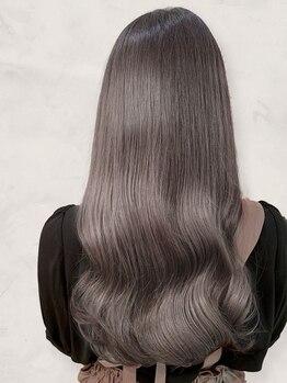 アッシュ ヘアーメイク 桐生(ash hair×make)の写真/髪がつやつやになる【髪質改善◇N.カラー】が当店人気!貴女の髪を潤い溢れる健康的な髪質に導きます◎