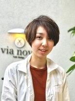 ビアノバ(via nova)外国人風ショートスタイル
