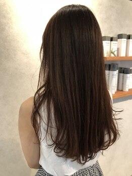 ドゥニカ(donica)の写真/【初芝】髪に優しいピュアオイル&話題の『OLAPLEX』配合♪ダメージを抑え、美しいシルエットの艶髪に☆