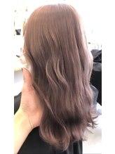 オーストヘアーリリー 京橋(Aust hair Rilly)スモーキーピンク☆