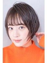 ACE 小顔ショート×艶カラー横浜