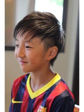 子供 ネイマール 髪型