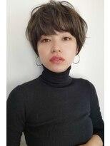 【Ramie 新谷千絢】束感たっぷり大人かわいいマニッシュショート