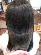 エスクローバー 夢前店(S Clover)髪質改善×フォギーベージュ×美髪