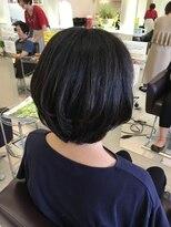 クール ヘアー ギャラリー 神明町店(COOL Hair gallery)ひし形大人ショート◇