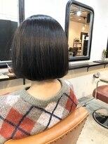 エトネ ヘアーサロン 仙台駅前(eTONe hair salon)美髪サラ艶ストレートボブ