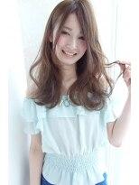ソース ヘア アトリエ 京橋(Source hair atelier)【Source】ガーリーロブ