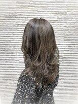 ビス リアン 川口店(Vis lien)バレイヤージュ/グレージュ/大人かわいい/ナチュラル/前髪/小顔
