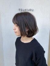 ツクル(TSUKURU)【TSUKURU】市川 やわらかボブ