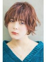 リル ヘアーデザイン(Rire hair design)【Rire-リル銀座-】ニュアンスショートボブ