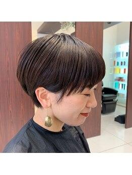 トニーアンドガイ 泉佐野(TONI&GUY)の写真/TONI&GUYでこなれヘアスタイルに☆顔周りの似合わせカットで絶妙なフォルムを表現してくれる♪