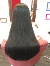 ヘア デザイン クリニック アンテナ(hair design clinic ANTENNA)しなやかでサラサラロング