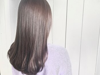 ノット 成田公津の杜(Knot)の写真/【毛髪診断+厳選薬剤5種】つい触りたくなる自然体なナチュラルストレートで艶髪を手に入れる