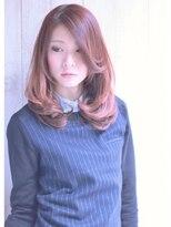 エッジィセミディ【Lucia hair stella京都店】