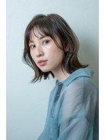 ミンクス 銀座店(MINX)外ハネくびれボブ【銀座×30代】