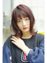クシュ(Kusyu...)エアリーミディ黒髪ショートパーマホワイトアッシュ(所沢4)