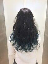 ヘアサロン ドット トウキョウ カラー 町田店(hair salon dot. tokyo color)【sky blue11】ブリーチグラデーションカラーリスト田中 #町田