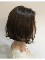 テラスヘア(TERRACE hair)デジタル外ハネボブパーマ