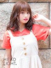 アーサス ヘアー デザイン 川崎店(Ursus hair Design by HEAD LIGHT)*HEADLIHGT*デジタルパーマで創るガーリーミディアム【川崎】