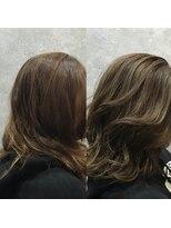 セブン ヘア ワークス(Seven Hair Works)[カラーベーシック]ブリーチなしで作るハイトーンカラー