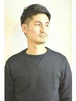 ステップ(STEP)【STEP YOSHI】大人の2ブロック ソフトモヒカン 刈り上げ