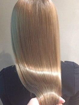 ラブハーツアンドビープラスエクラ(luve heart's And Be+Eclat)の写真/【梅田/Aujua取扱サロン】あなたの髪質やなりたい質感が叶う!今大人気の上質トリートメントAujuaで美髪