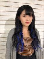 ビーヘアサロン(Beee hair salon)【渋谷エクステ・カラーBeee/安部 郁美】インナーカラーエクステ