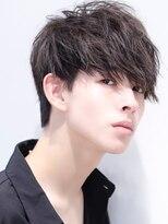 リップスヘアー 銀座(LIPPS hair)【色気男子】フェザーツイストサイドパートムーブ