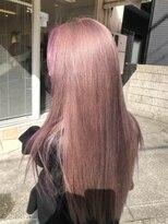 ナナナパレナ 心斎橋店(nanana parena)自分史上最高の艶髪ストレートロング☆ラベンダーカラー