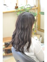 ハートフル(hair salon HEART FULL)ふんわりルーズなパーマスタイル