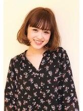 アイル ヘアー(Aile Hair)【Aile Hair】毛先ワンカール☆シースルーバング