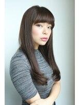 ギフト ヘアー サロン(gift hair salon)大人可愛い定番ストレート  (熊本・通町筋・上通り)