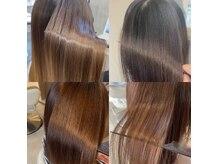 アース 福岡新宮店(HAIR&MAKE EARTH)の雰囲気(くせ毛改善はもちろん、驚きの艶と手触りを実現!お試しあれ)
