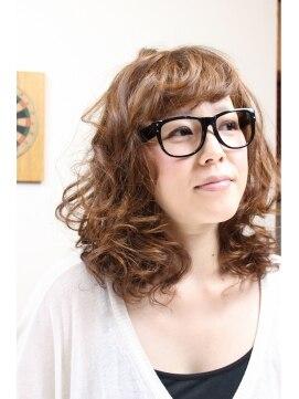 グランヘアー 豊岡店(GRAN HAIR)くるふわカーリーボブ