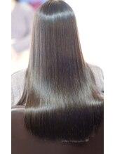 グランツヘアー(Glanz hair)ブローレスのさらさらストレート