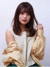 オーブ ヘアー フィオーレ 京都桂店(AUBE HAIR fiore)【AUBE HAIR】大人かわいいナチュラル_セミロング