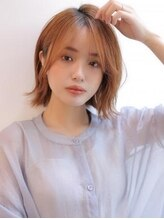 アグ ヘアー オッジ 札幌琴似店(Agu hair oggi)《Agu hair》柔らかフォルムの韓国ゆるボブ