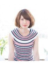 リノヘア 関内店(RINO Hair)☆柔らかラフウェーブAライン×ショートボブ☆3400円
