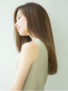 ヒール(heel)の写真/【銀座】オージュアや髪質改善サブリミックなど、毛先まで潤う最高級ケア♪
