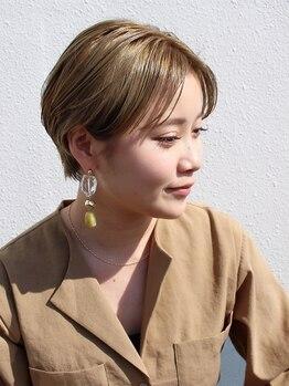 シャンプーボーイアネックス(SHAMPOO BOY Annex)の写真/【骨格・髪質・毛流に問わず誰にでも似合うショートヘアが見つかる☆】バランスの良い最旬小顔ショートへ☆