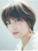 ユーレルム オット(U-REALM otto)ひし形 大人可愛い ショート ユーレルム新宿 川田