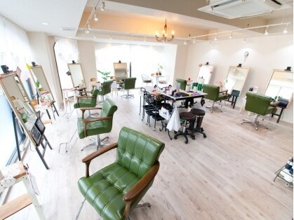 グリーンエコサロン ヴァッセル 四街道店(Green eco salon wasser)の写真