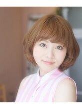 ナチュール(Hair Resort Rydia)ガーリーマッシュボブ 新宿