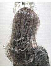 バンクスヘアー(BANK'S HAIR)外国人風シルバッシュハイライト