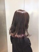 ヘアサロン ドット トウキョウ カラー 町田店(hair salon dot. tokyo color)【vivid violet】インナーカラーカラーリスト田中 【町田】