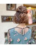 ヘアーメイク アフィーノ(hair make affino)結婚式お呼ばれアレンジ