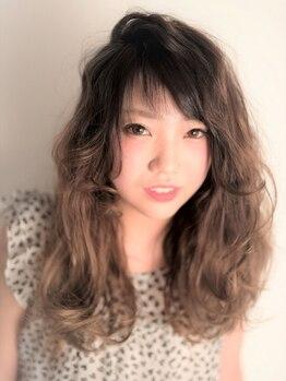 ヘアーアンドメイク シャンプー(hair&make shampoo)の写真/【グラデーション/ハイ・ローライト/3D】いつものスタイルに飽きたなら、個性的カラーでオシャレ度UP☆