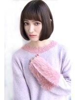 【Laetus/大和西大寺】人気☆白髪染め×ナチュラルストレート