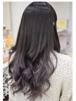 ヘアーデザイン キャンパス(hair design Campus)【イルミナRカラー】ブルーバイオレットグラデーション