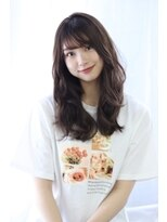 ヘアリゾート ブーケ(hair+resort bouquet)☆暗髪透明感カラー☆ラベンダーアッシュ*nami